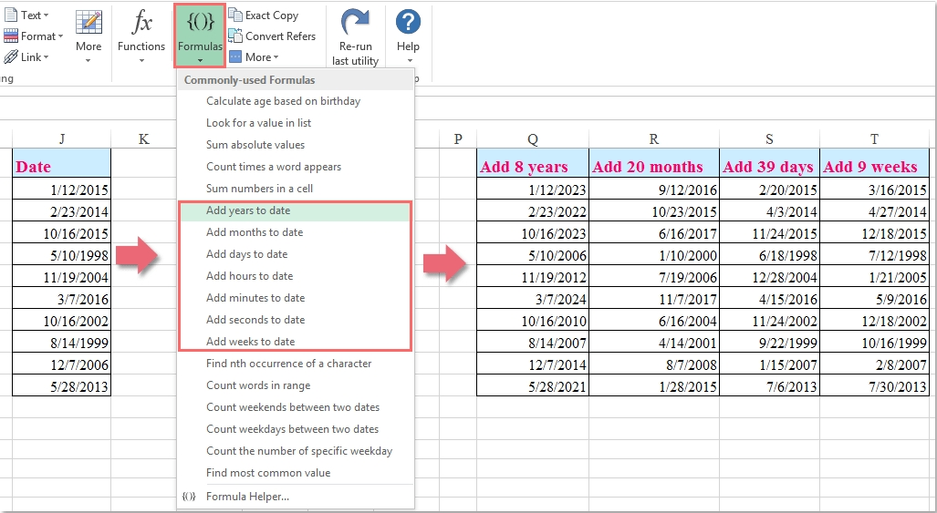 How To Count The Number Of Days / Workdays / Weekends Between Two Dates In Excel?