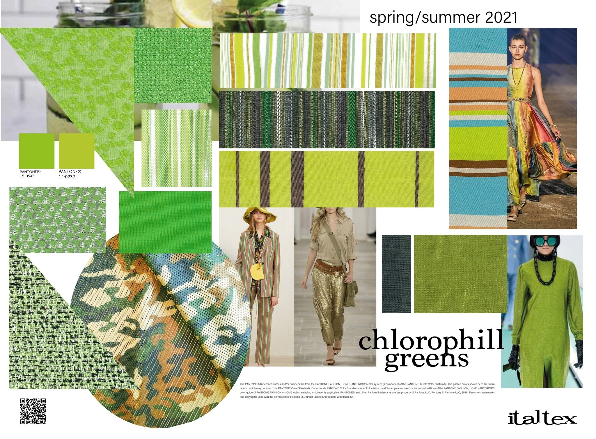 Italtex: Colour And Textile Inspirations For Womenswear Ss2021 - Trends (#1167095)
