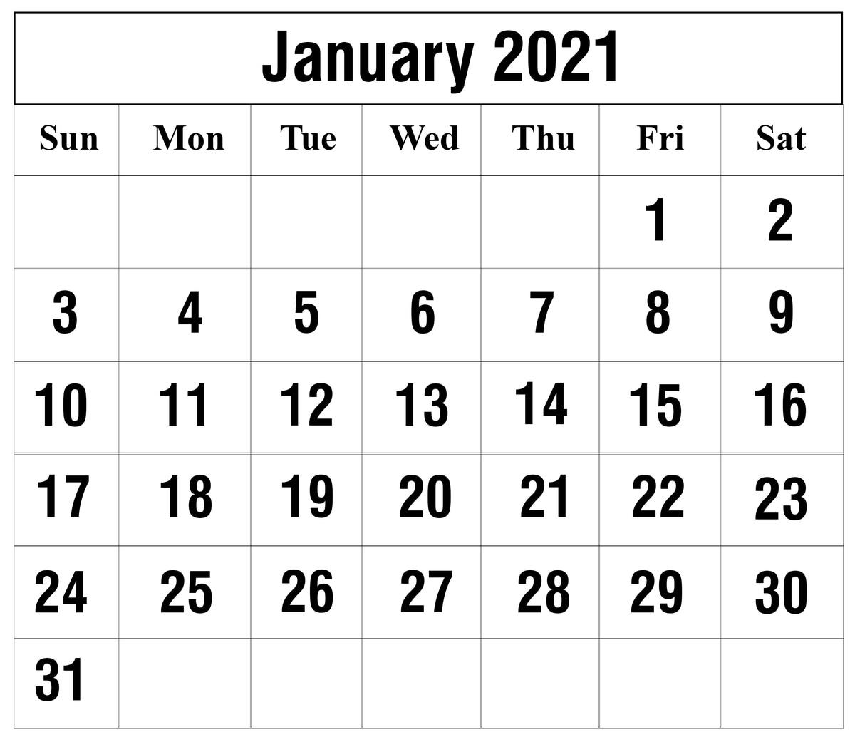 Julian Calendar 2021 Printable - Calendar Inspiration Design