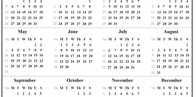 Julian Calendar 2021 Quadax | Free Printable Calendar