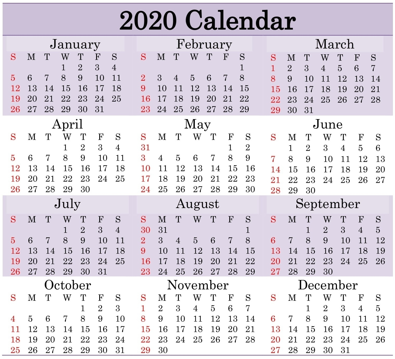 Julian Date Leap Year 2021   Printable Calendar Template 2021