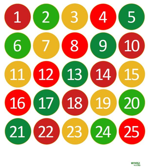 Kids Can Light The World Advent Calendar- Free Printable