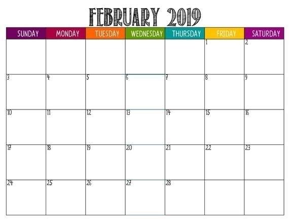 Large Square Calendar Image | Calendar Template 2020