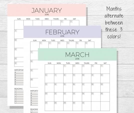 Leap Year Depo-Provera Perpetual Calendar | Printable Calendar Template 2021