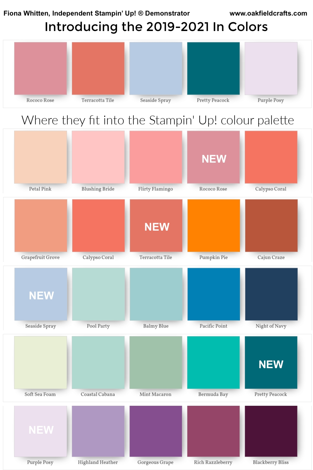 Let Me Introduce You To The 2019-2021 In Colors | Color Trends Fashion, Pantone Color, Pantone