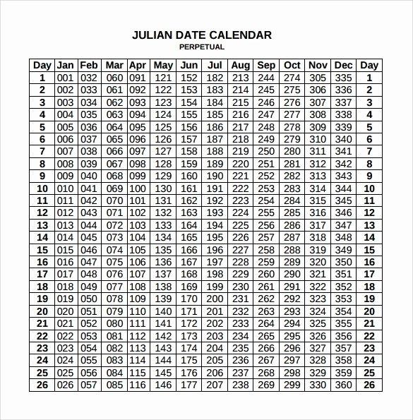 New 45 Design Julian Date Calendar 2019 | Printable Calendar Template, Calendar Template, Free