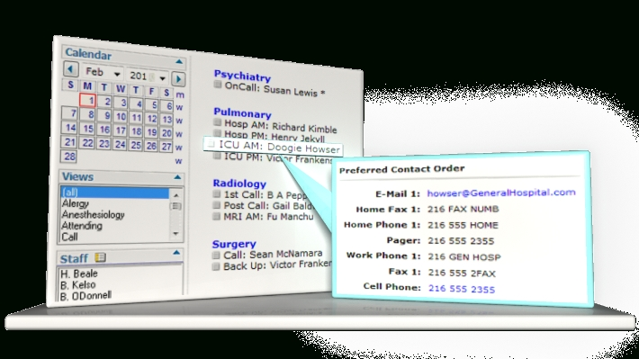 On Call Medical & Physician Staff Scheduling Software   Docs Scheduler™