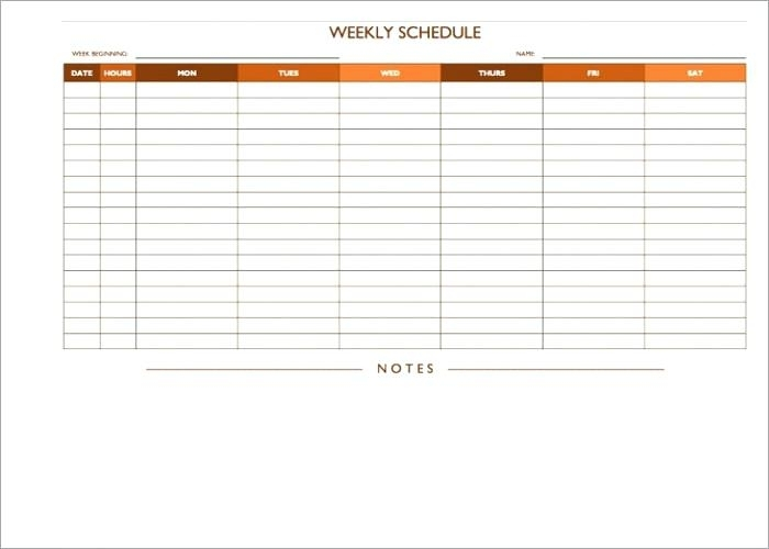 On Call Rotation Schedule Template | Printable Schedule Template
