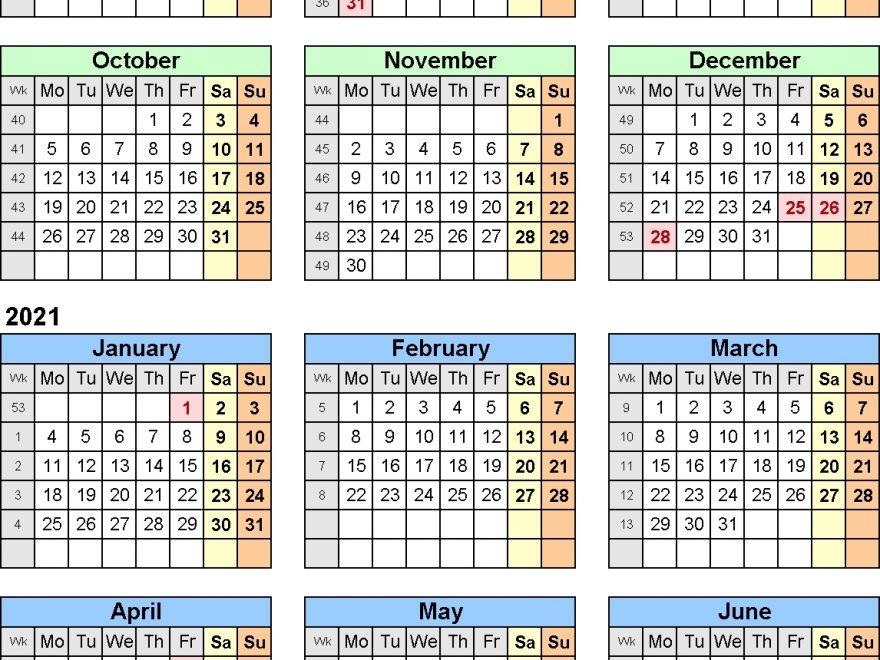 Pay Period Calendar 2020 Gsa   Payroll Calendar 2021