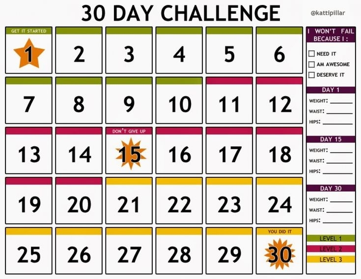 Pin By Kirsten Vk On Get Healthy!! | 30 Day Shred, 30 Day Challenge, 30 Day