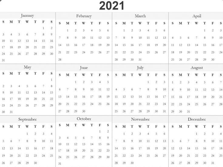 Printable 2021 Julian Date Calendar | Free Printable Calendar Templates, Print Calendar, Free