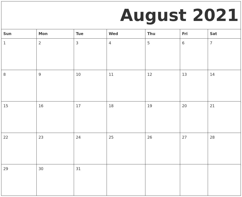 Printable Calendar Monday To Sunday | Month Calendar Printable