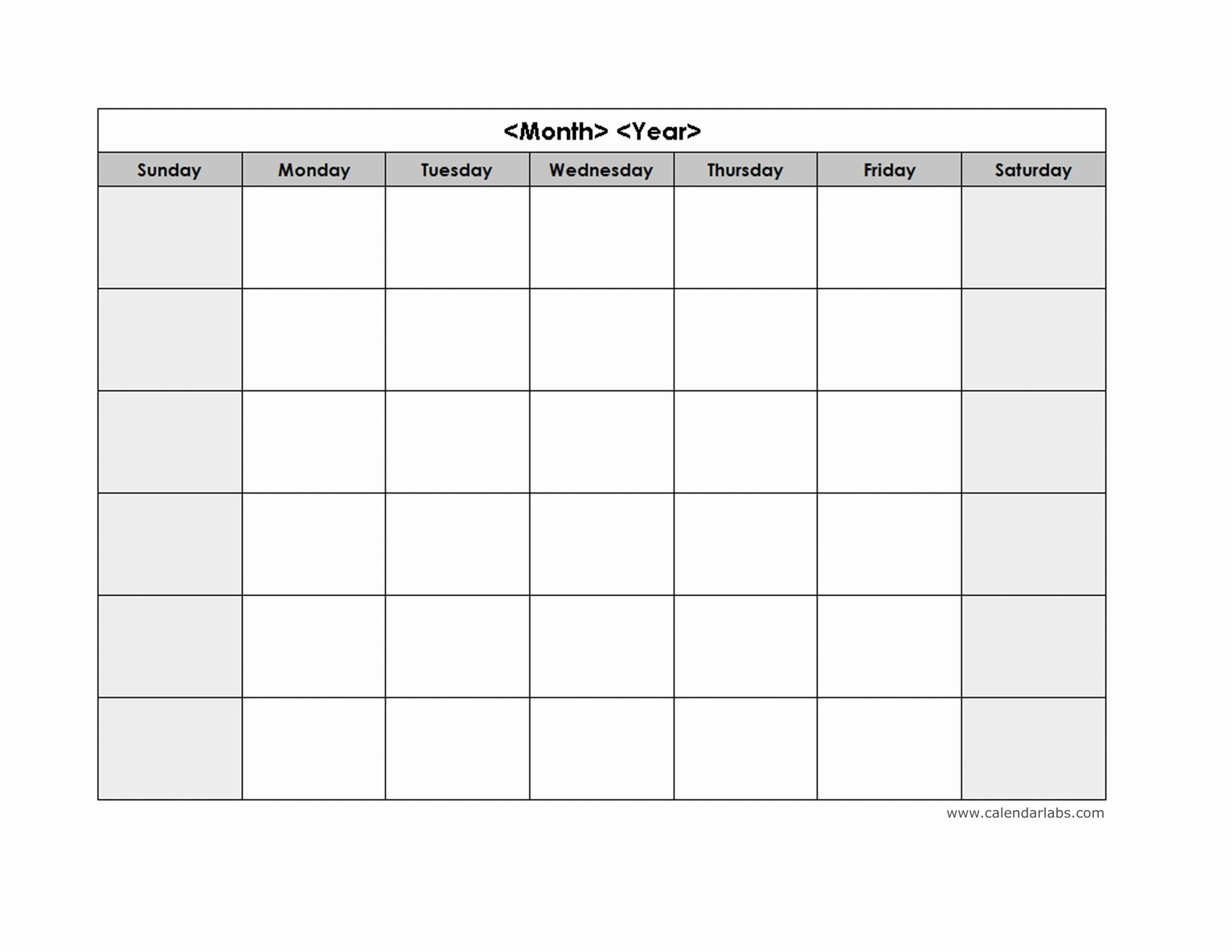 Printable Monday Thru Sunday Calendar For Word | Ten Free Printable Calendar 2020-2021