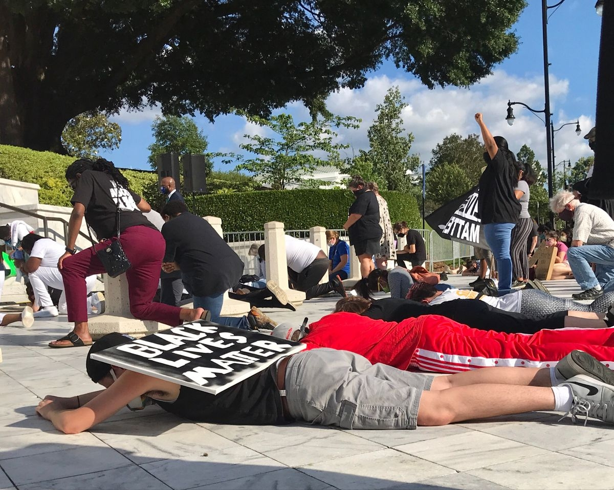 Public Defenders Host Rally Against Racism In Justice System