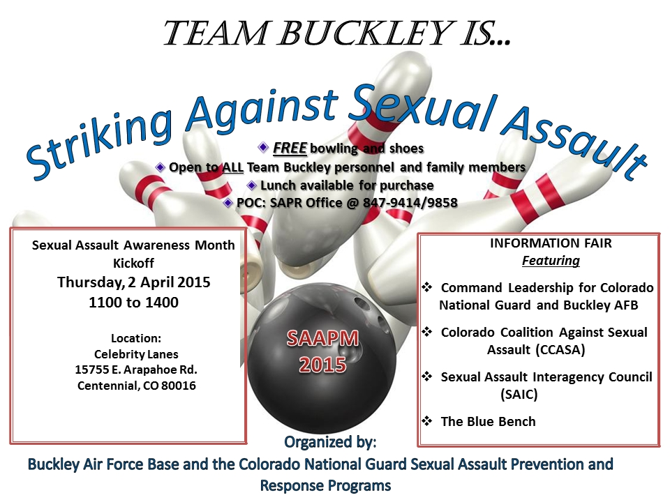 Saam Kickoff Bowling Event | Colorado Coalition Against Sexual Assault