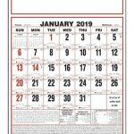 Military Short Time Calendar