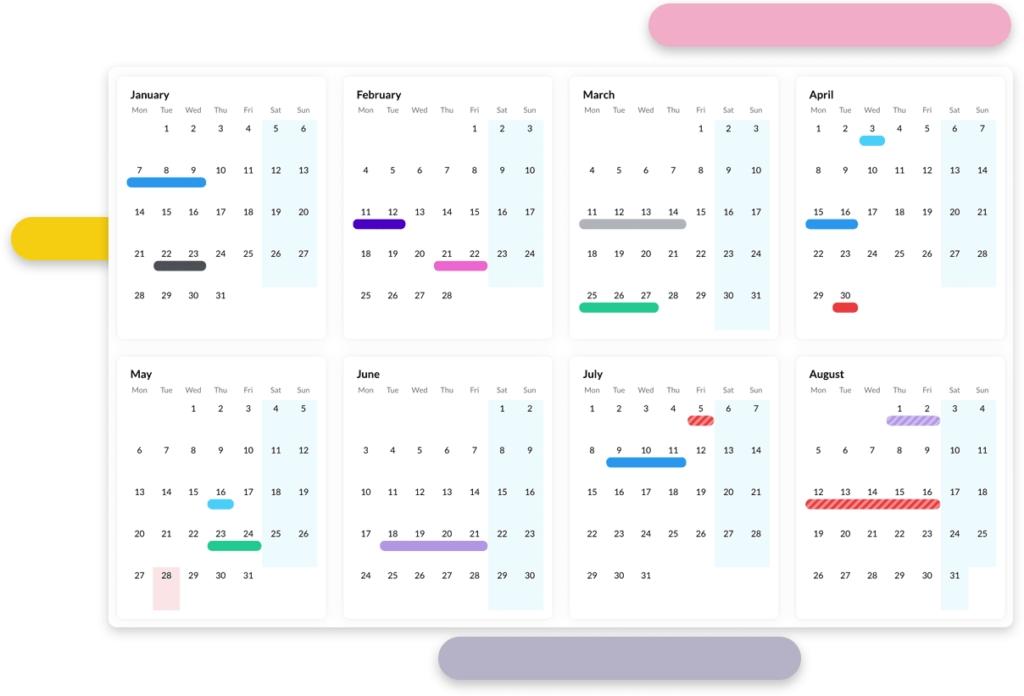 Staff Leave Planner Software | Leave Management System