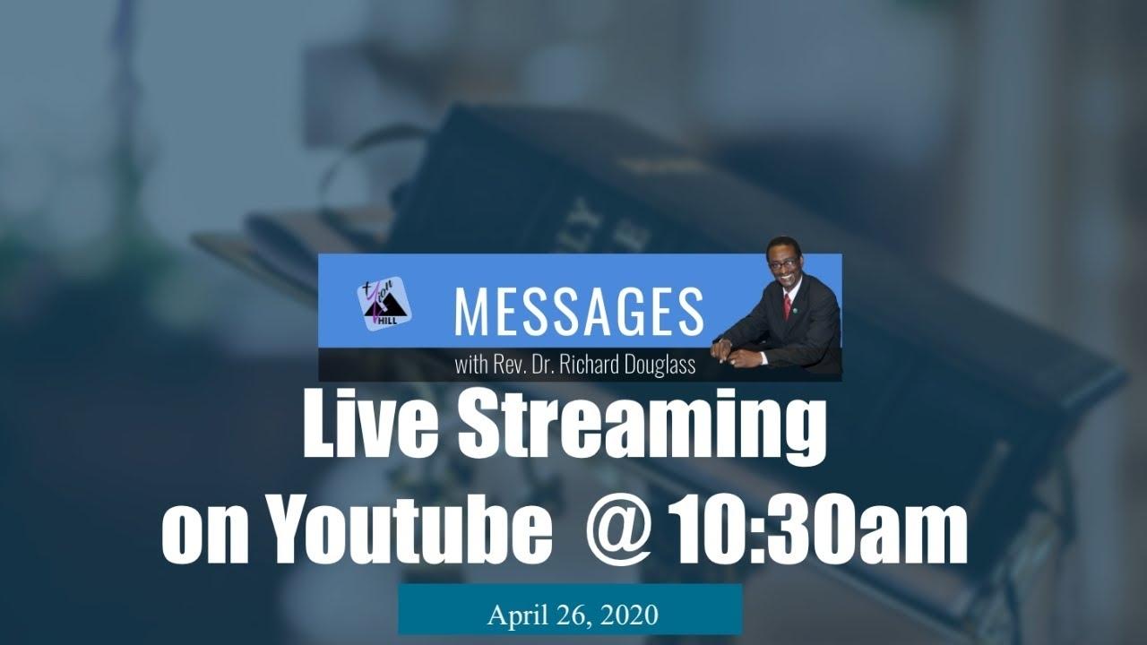Sunday Morning Worship, April 26, 2020 10:30Am Est - Youtube