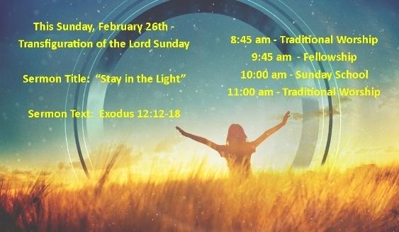 Sunday Worship: February 26, 2017 » First United Methodist Church Bridgeport