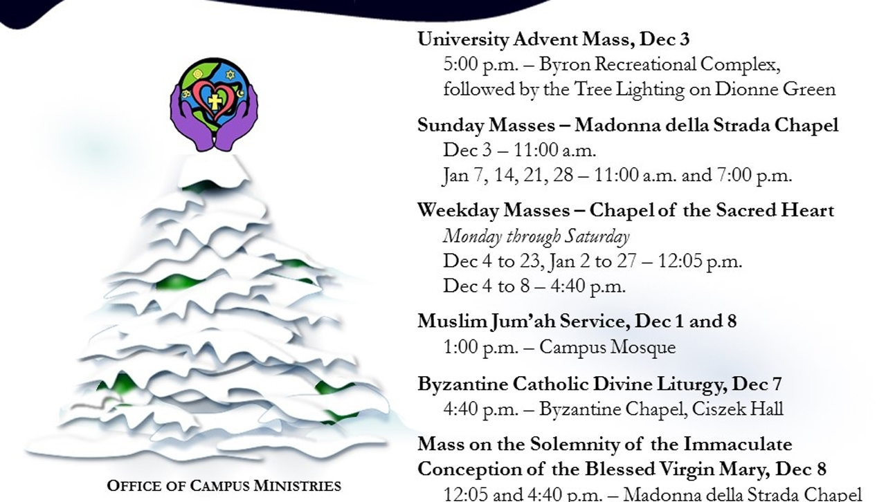 The Worship Schedule For December And January | Royal News: August 27 2018