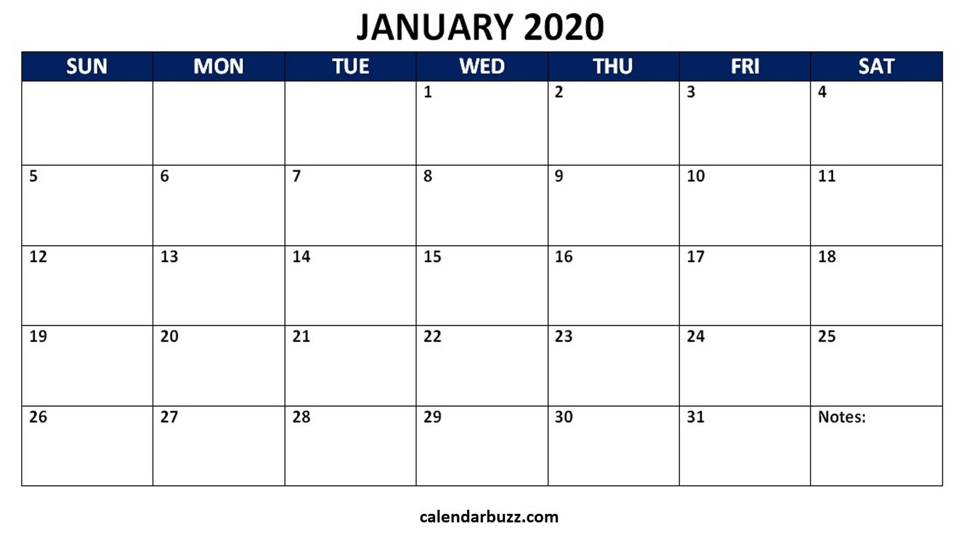 Universal Monthly Calendars You Can Edit | Get Your Calendar Printable