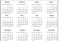 2021 Julian Date - Calendar Inspiration Design