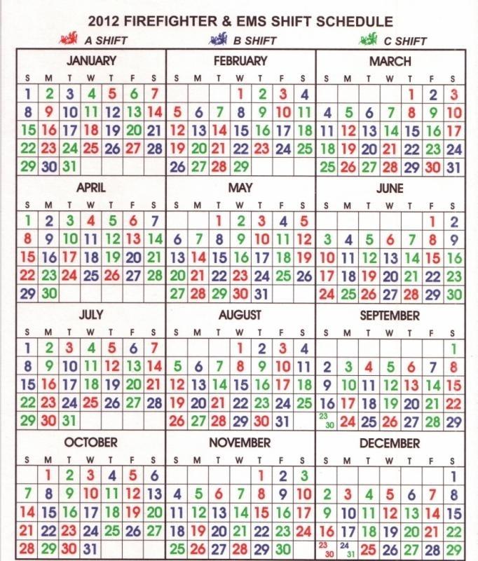 24 7 Shift Schedule Template   Shatterlion