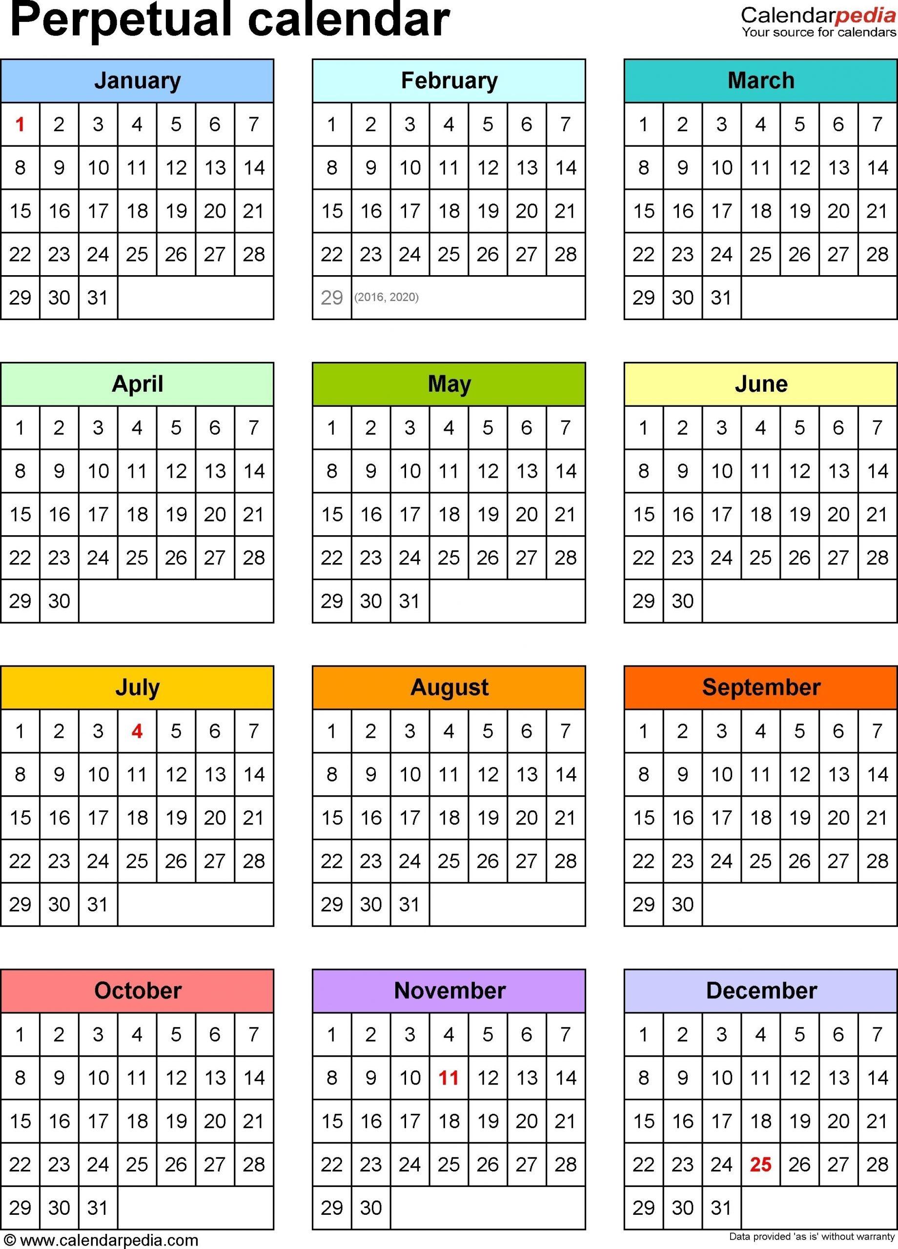 Depo Provera Perpetual Calendar 2019 Printable - Template Calendar Dowload   Monthly Calendar