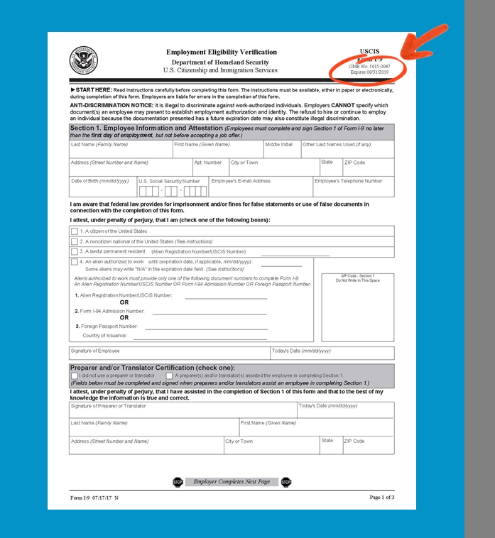 Form I-4 Expiration Date What Will Form I-4 Expiration Date Be Like In The Next 4 Years? - Ah