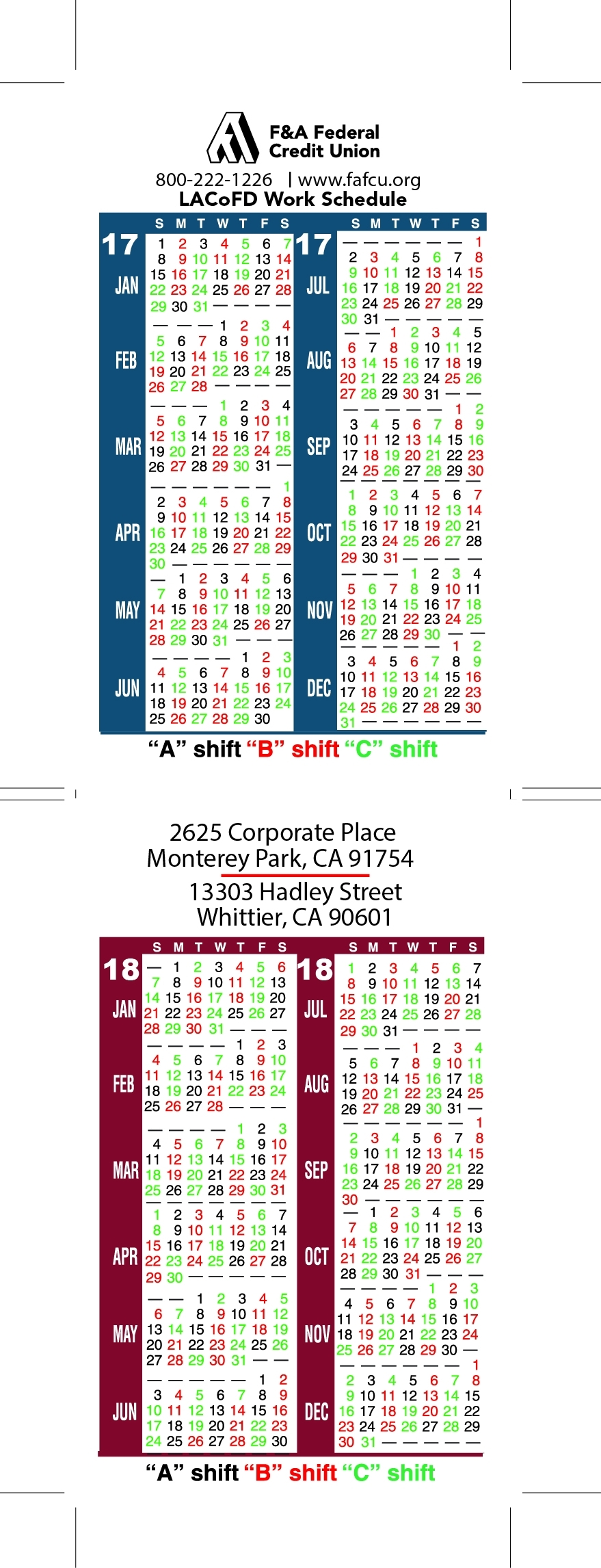 Houston Fire Department Shift Calendar   Printable Calendar 2020-2021