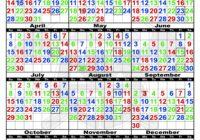 Houston Fire Department Shift Calendar | Printable Calendar 2020-2021
