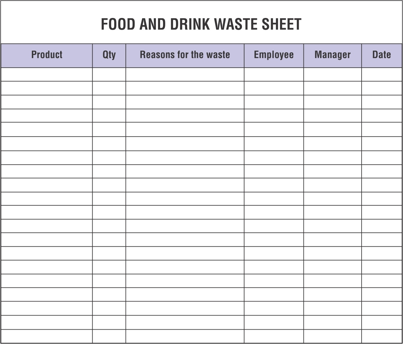 Restaurant Inventory Spreadsheets That You Must Maintain And Monitor
