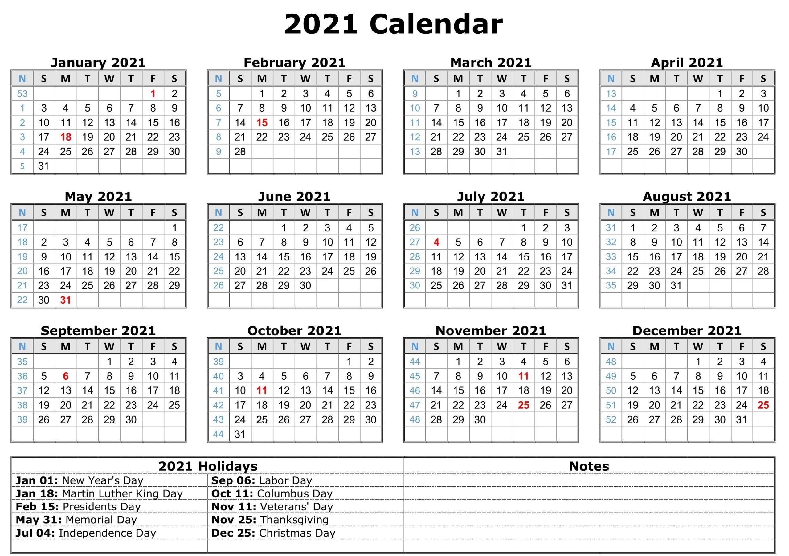 Take 2021 Printable Calendar Free | Calendar Printables Free Blank